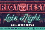 Dashboard Confessional a Riot Fest Late Night show