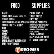 Food Drive Items